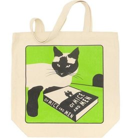 Gibbs Smith Of Mice and Men Cat Tote