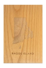 Rhode Island Wooden Art
