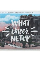 Frog & Toad Press What Cheer Netop Providence Postcard