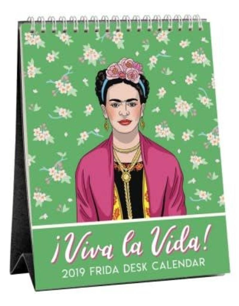 The Found Viva la Vida! 2019 Frida Desk Calendar