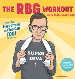 Chronicle The RBG Workout 2019 Wall Calendar
