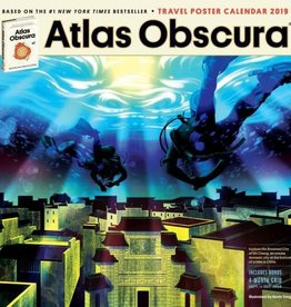 Workman Publishing Group Atlas Obscura Wall Calendar 2019