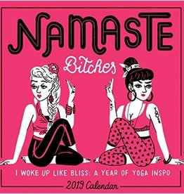 Workman Publishing Group Namaste Bitches Wall Calendar 2019