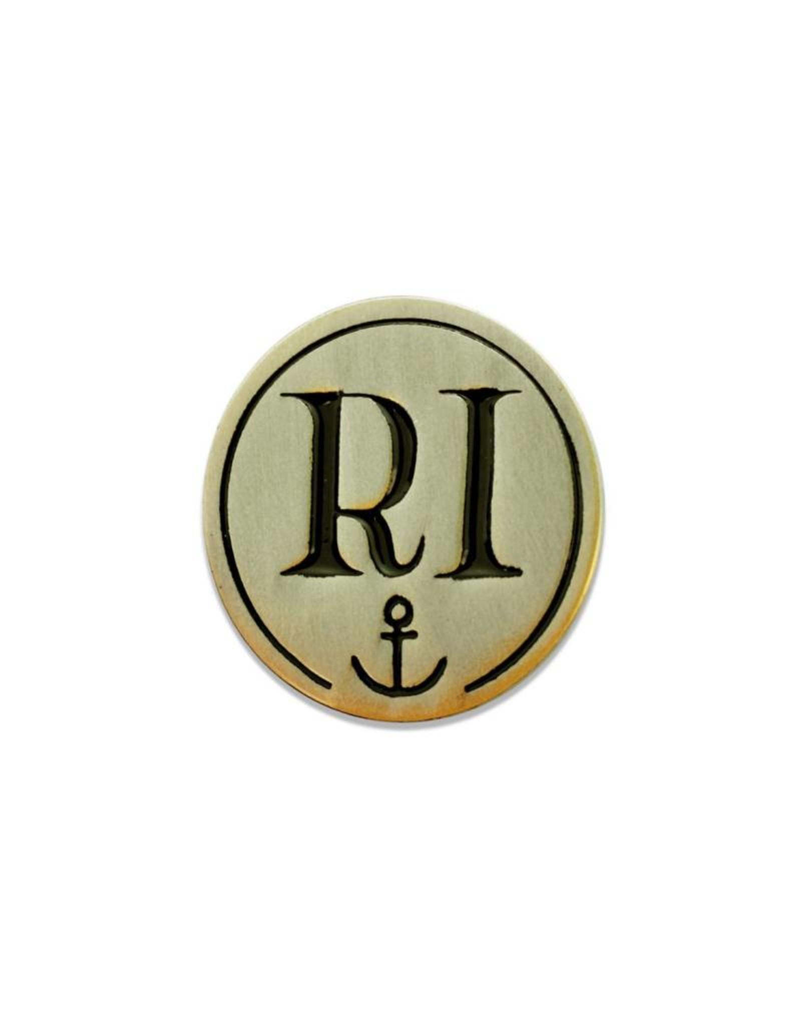 RI Anchor Enamel Pin