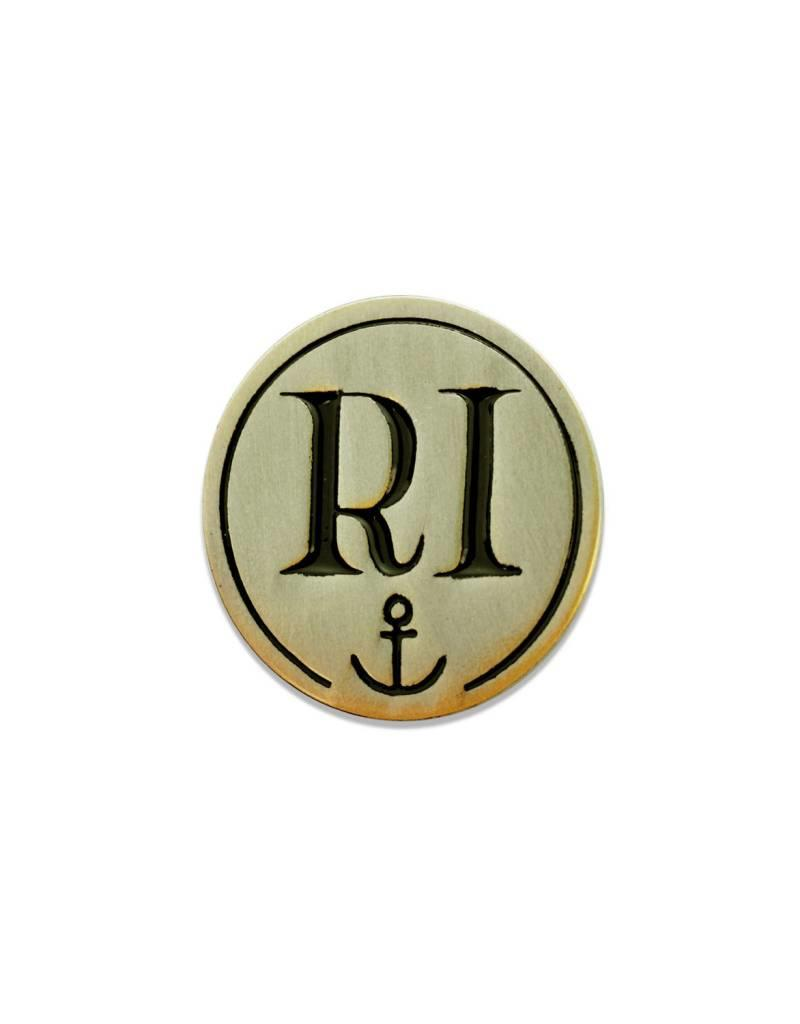 Frog & Toad Press RI Anchor Enamel Pin