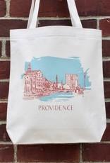 Albertine Press Providence Tote Bag - Blue