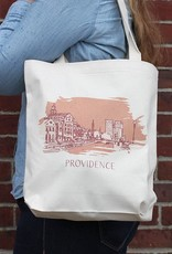 Albertine Press Providence Tote Bag - Orange