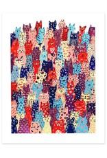 Cactus Club Paper Cat Club Print