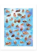 Cactus Club Paper Otter Overload Print