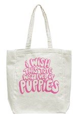 Frog & Toad Press I Wish This Tote Was Full of Puppies Tote