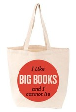 Gibbs Smith I Like Big Books Tote