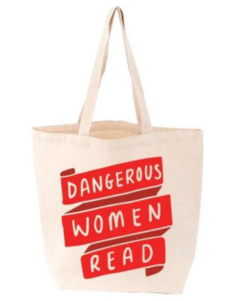 Gibbs Smith Dangerous Women Read Tote