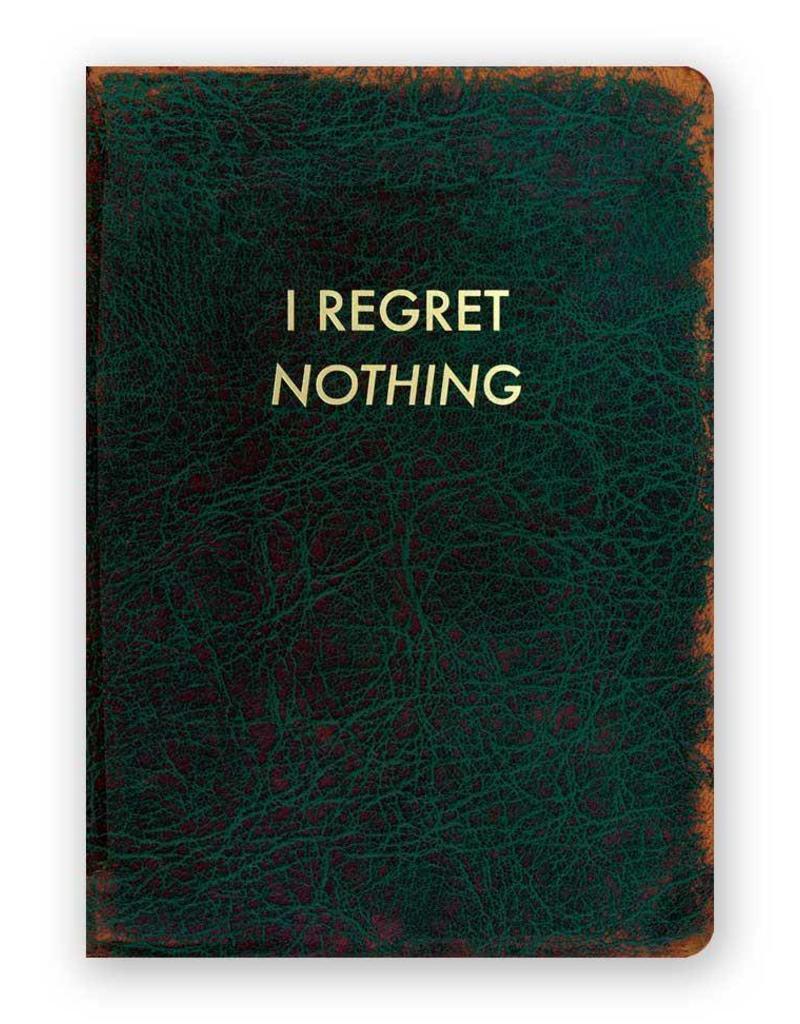 Mincing Mockingbird I Regret Nothing Journal