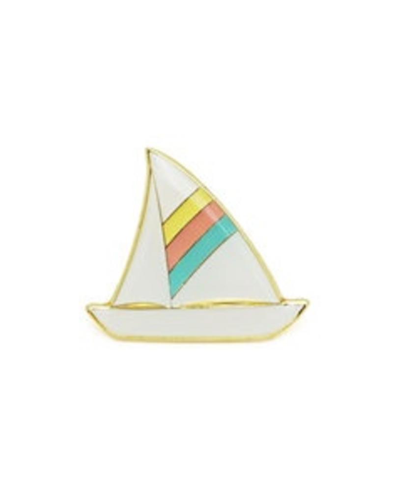 Lucky Horse Press Sailboat Enamel Pin