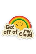 Lucky Horse Press Get Off My Cloud Sticker
