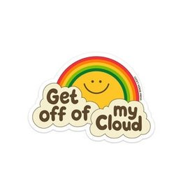 Lucky Horse Press Get Off My Cloud Sticker