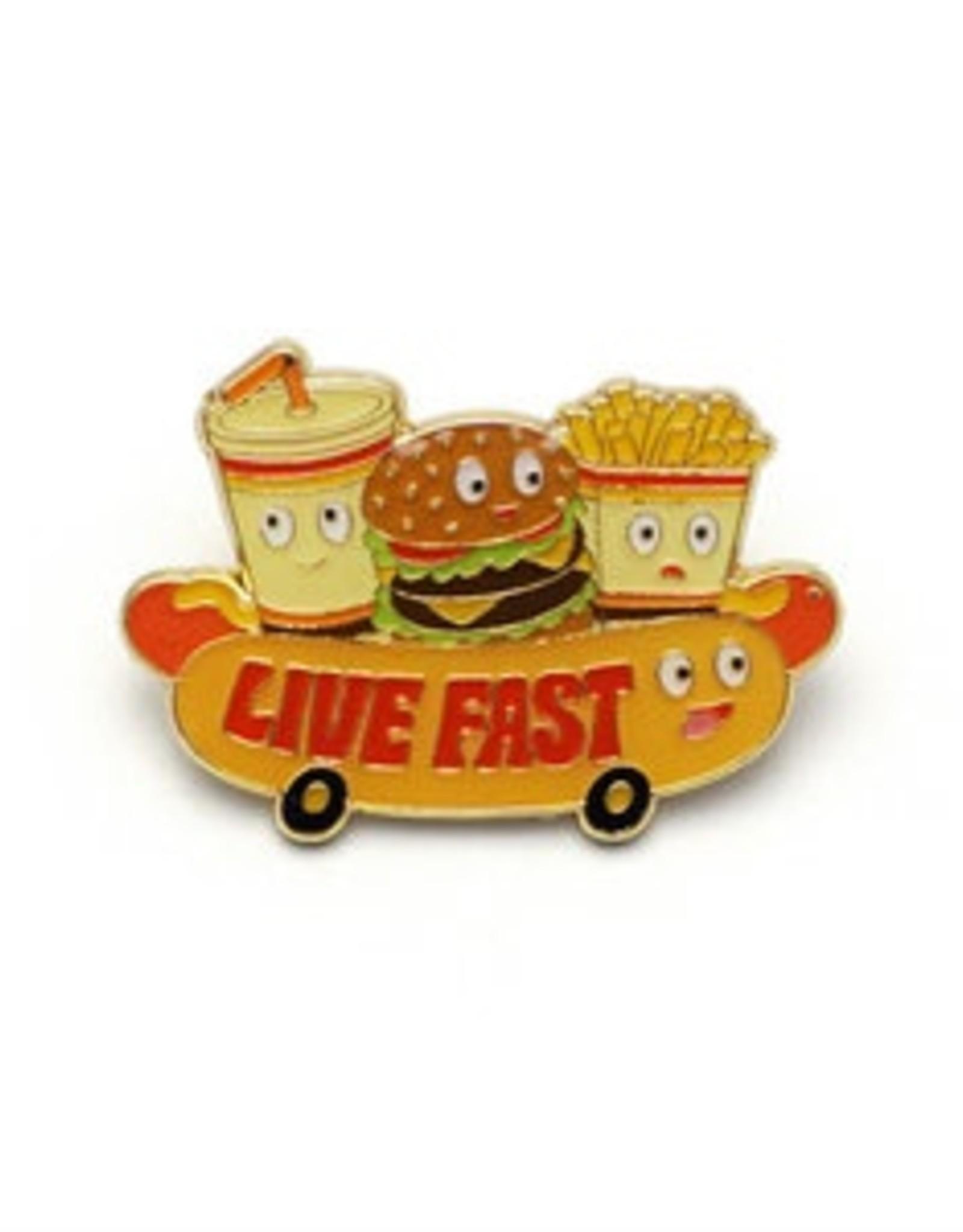 Live Fast Enamel Pin