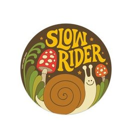 Lucky Horse Press Slow Rider Sticker
