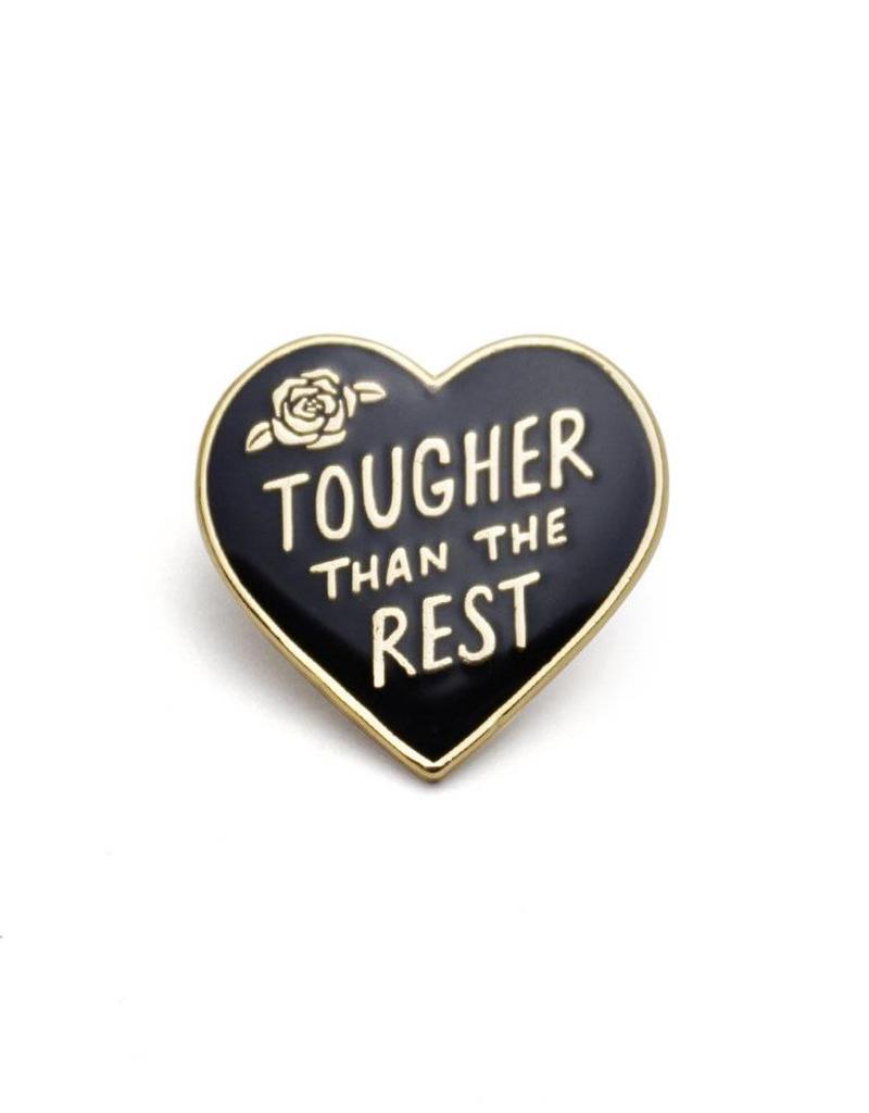 Lucky Horse Press Tough Heart Enamel Pin