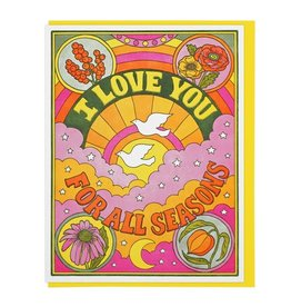 Lucky Horse Press Love You for All Seasons Greeting Card