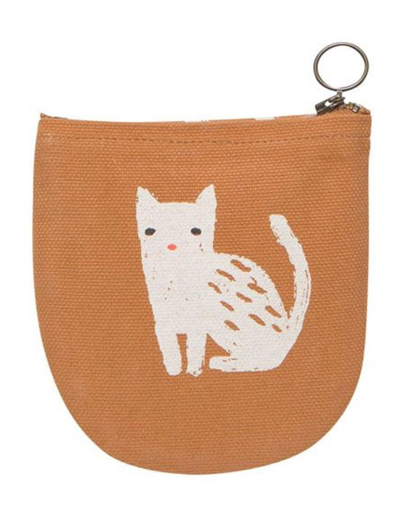 Danica Designs Half Moon Pouch : Cat