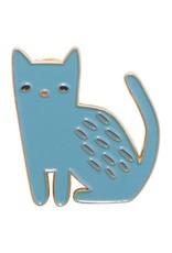 Danica Designs Blue Cat Enamel Pin