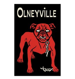 Frog & Toad Design Olneyville Dog Print