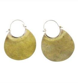 HomArt Brass Drop Earrings