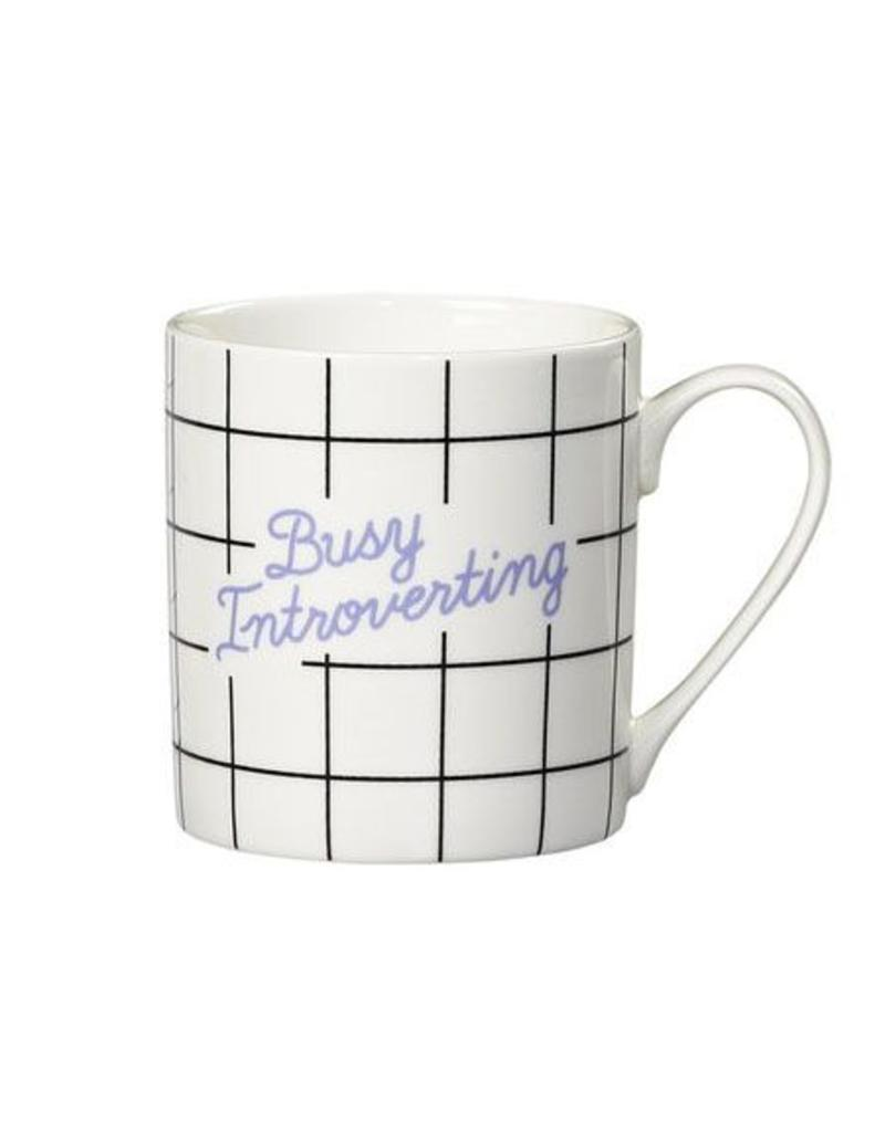 Yes Studio Busy Introverting Mug