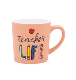 Hello World Teacher Life Mug