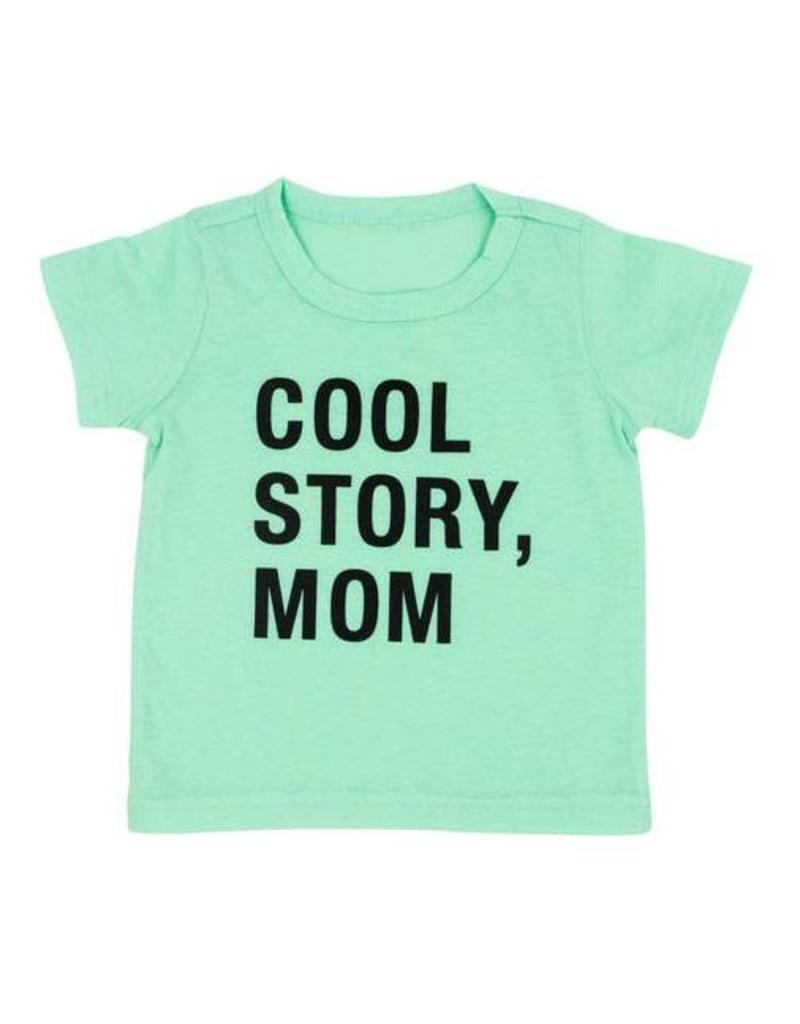 Hello World Cool Story, Mom Toddler Tee (2T)