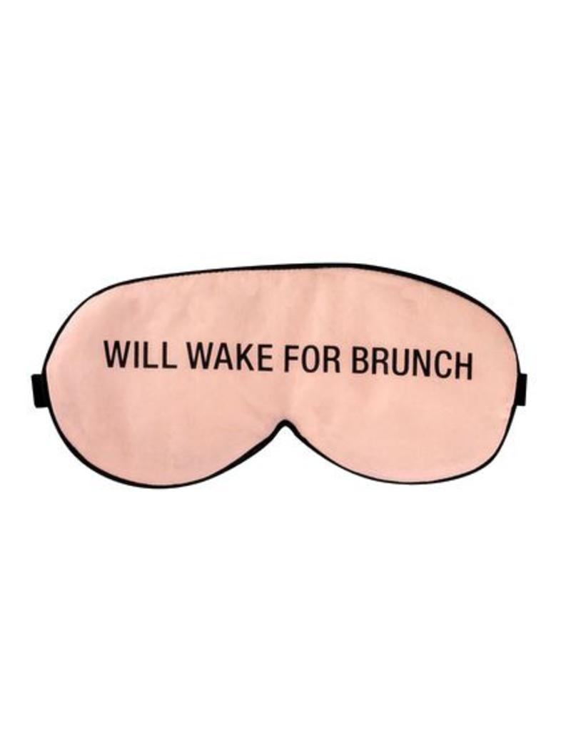 Hello World Brunch Sleep Mask