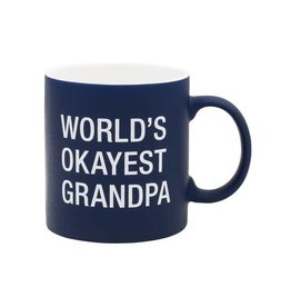 Hello World World's Okayest Grandpa Mug