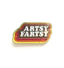 Smarty Pants Paper Co. Artsy Fartsy Enamel Pin