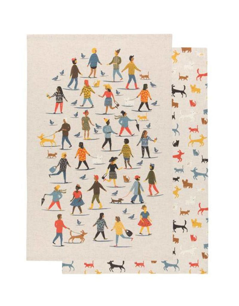 Now Designs People Person Tea Towel (Set of 2)