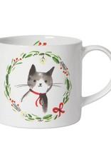 Danica Designs Jingle Cat Mug