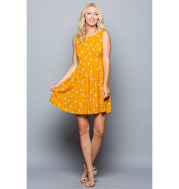 LA Soul Llama Print Dress