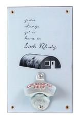 Frog & Toad Design Little Rhody Quonset Hut Bottle Opener