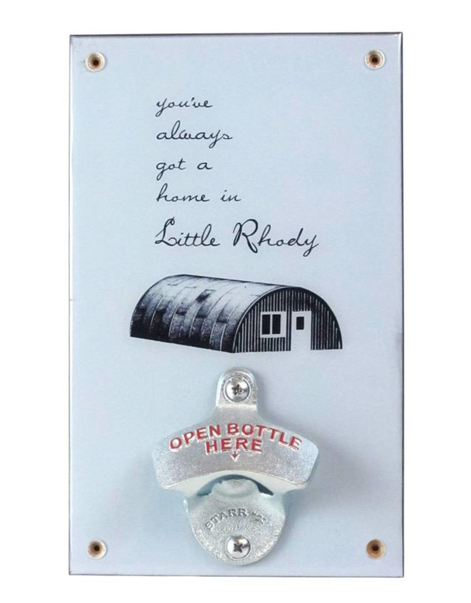 Little Rhody Quonset Hut Bottle Opener