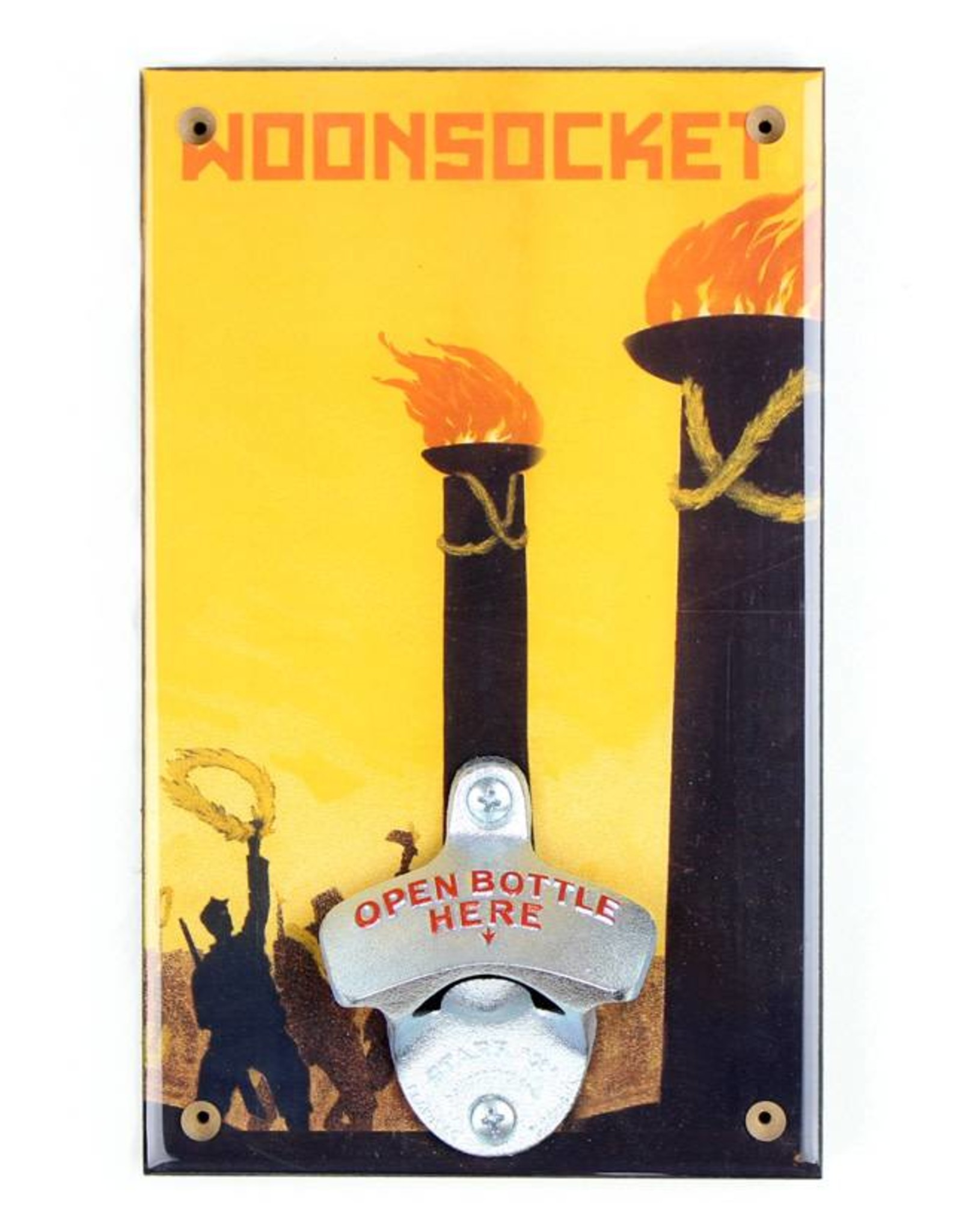 The Woonsocket Revolution Bottle Opener
