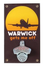 Warwick Gets Me Off Bottle Opener