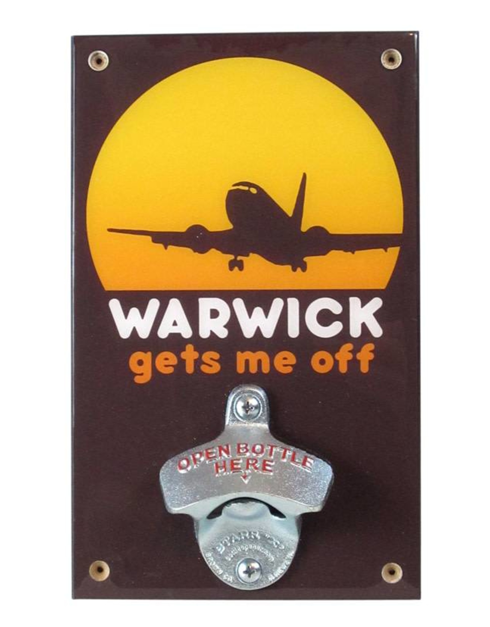 Warwick Gets Me Off Bottle Opener
