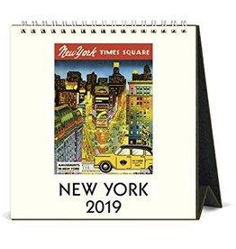 Cavallini 2019 Desk Calendar : New York