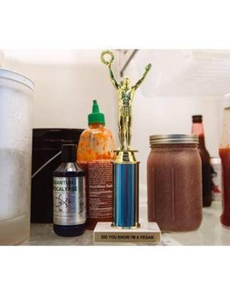 Trophy Kits Did You Know I'm a Vegan Trophy