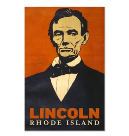 Popcorn Movie Poster Abe Lincoln Magnet