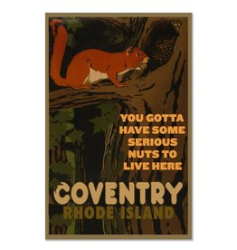 Coventry Squirrel Magnet