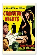 Frog & Toad Design Cranston Nights Movie Magnet