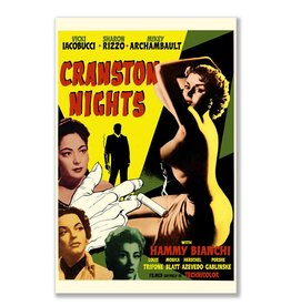 Cranston Nights Movie Magnet