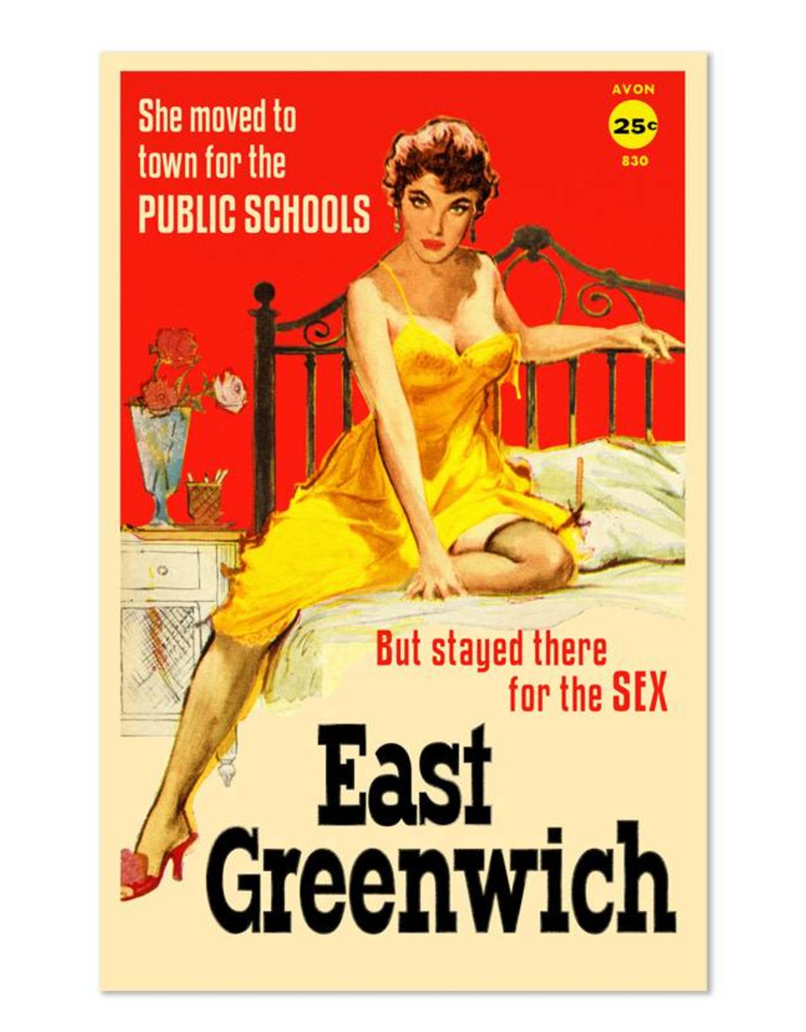 East Greenwich Pulp Fiction Magnet