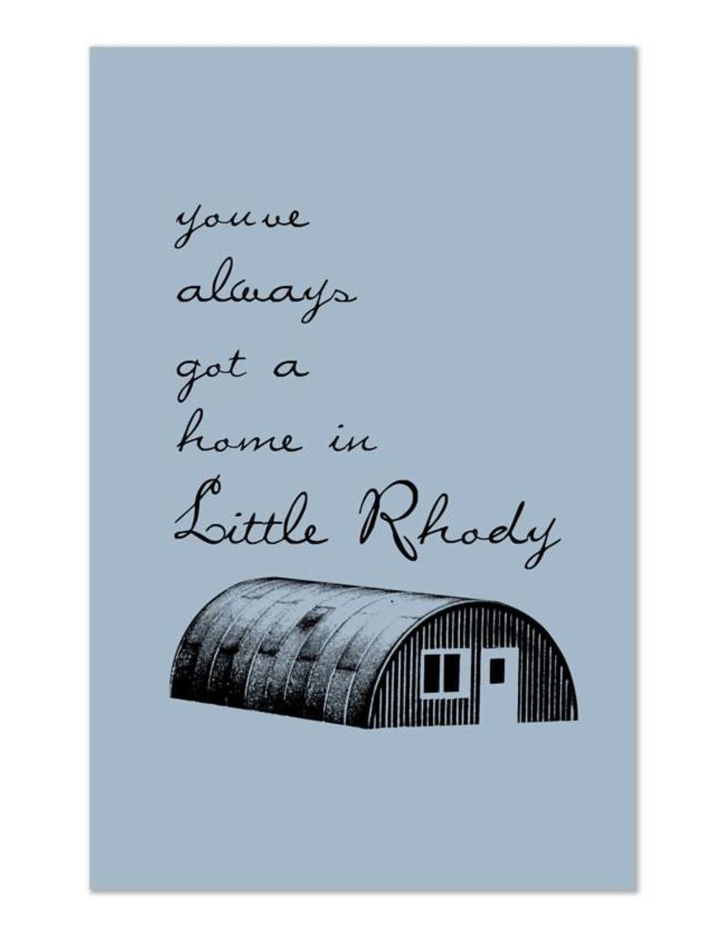 Frog & Toad Design Little Rhody Quonset Hut Magnet